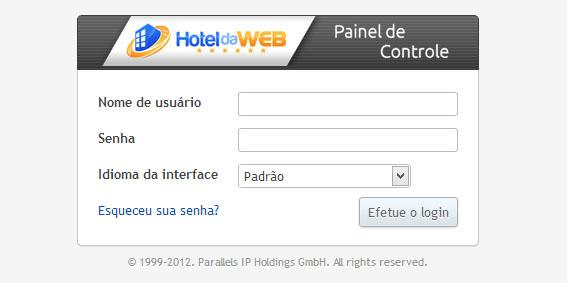 login-painel-plesk-11